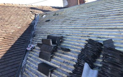 Refurbshment of a tiled Roof