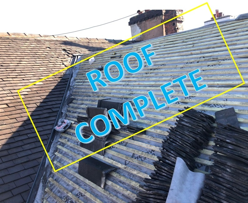Refurbishment – Pitched tile Roof